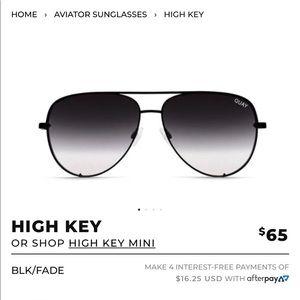 Quay High Key Fade sunglasses